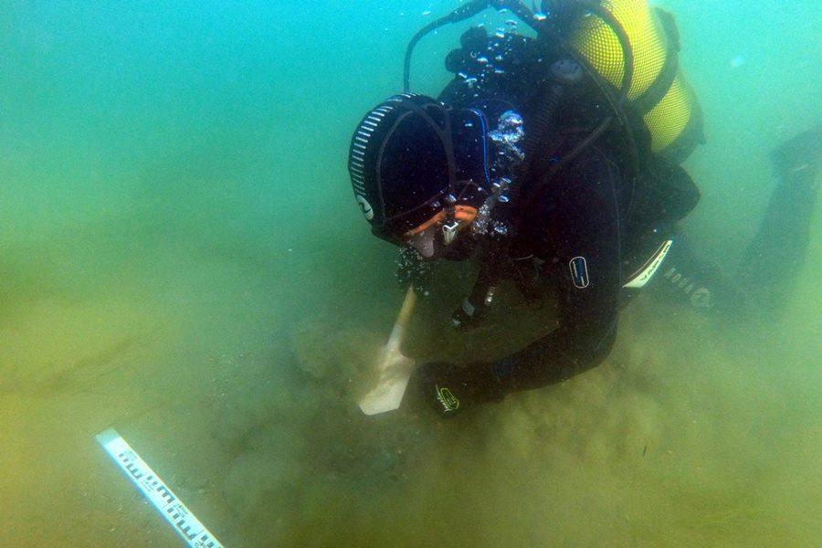 На дне Керченского пролива обнаружен затонувший деревянный парусник XIX века