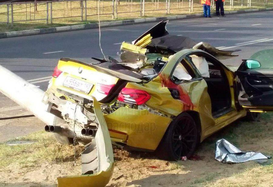 В Краснодаре скончался четвертый участник жесткого ДТП с золотым BMW