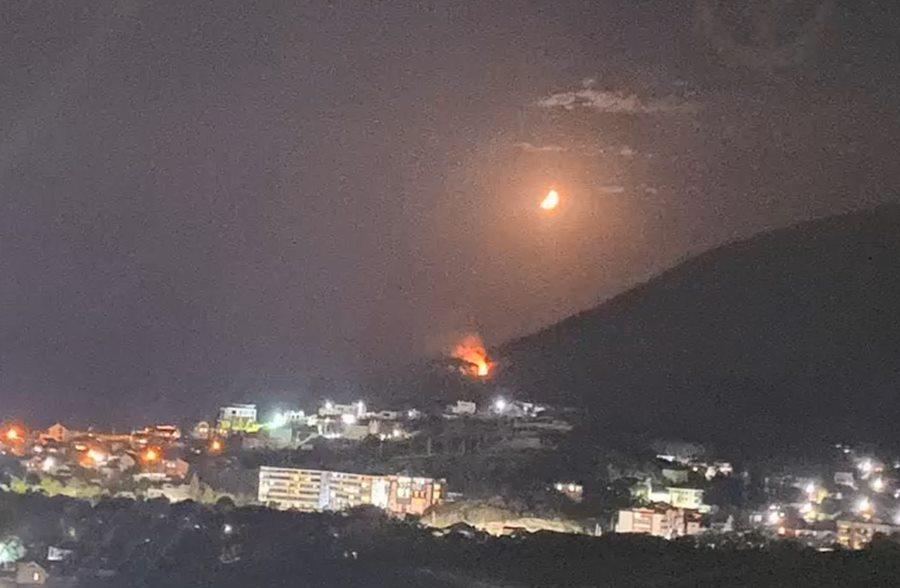 Стала известна причина пожара на горе Колдун в Новороссийске