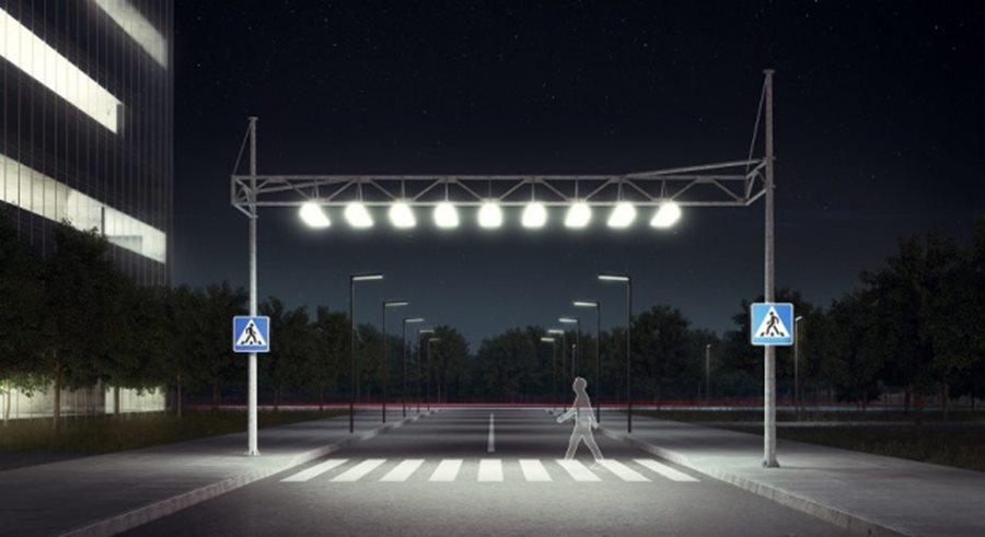 Мэру Краснодара вынесут представление за плохую освещенность пешеходных переходов вблизи школ
