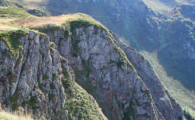В Сочи москвич застрял в каньоне реки Сумасшедшая на высоте 1700 метров