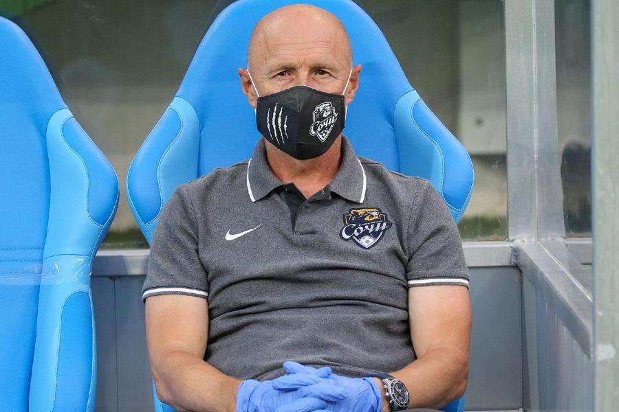 Главный тренер ФК «Сочи» дисквалифицирован на два матча за оскорбления судей