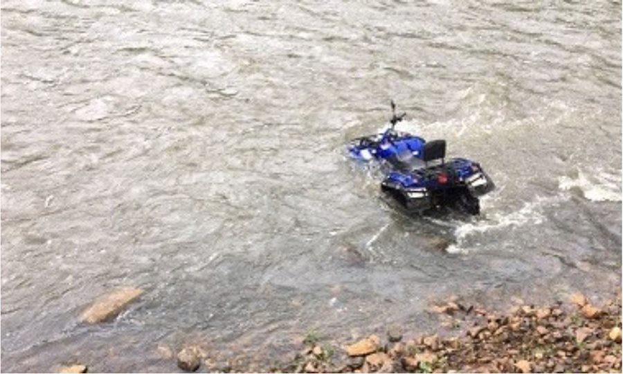СК занялся историей отца с ребенком, которые упали на квадроцикле с обрыва в реку в Сочи