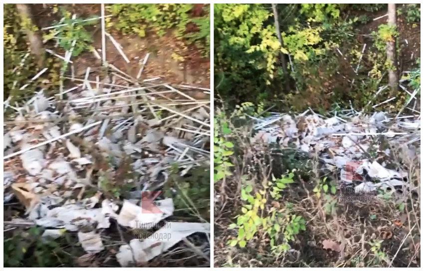 Под Краснодаром обнаружена свалка чрезвычайно опасных отходов