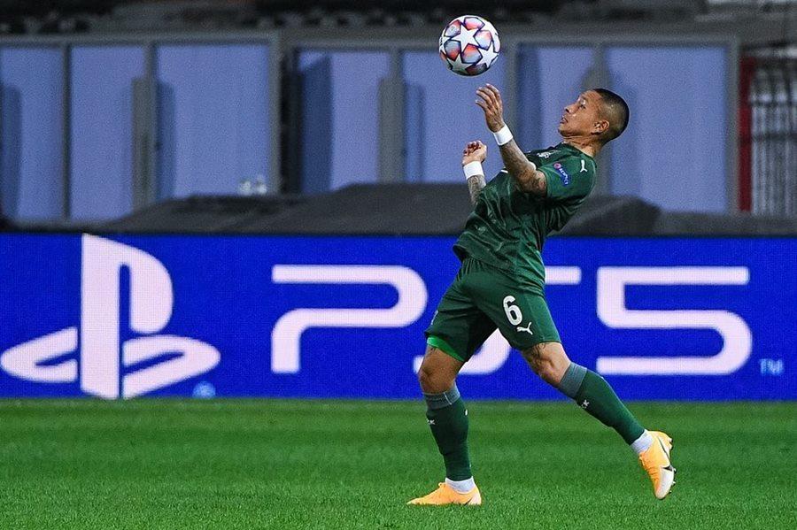 Игрок ФК «Краснодар» номинирован на звание автора лучшего гола недели в Лиге чемпионов