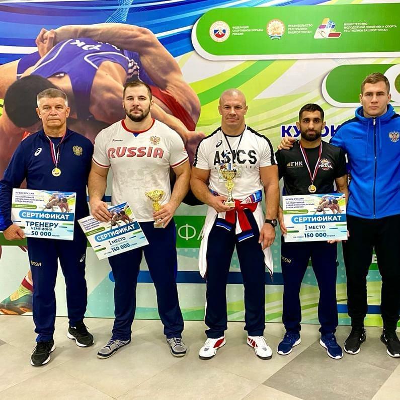Кубанские борцы завоевали три медали Кубка России по греко-римской борьбе