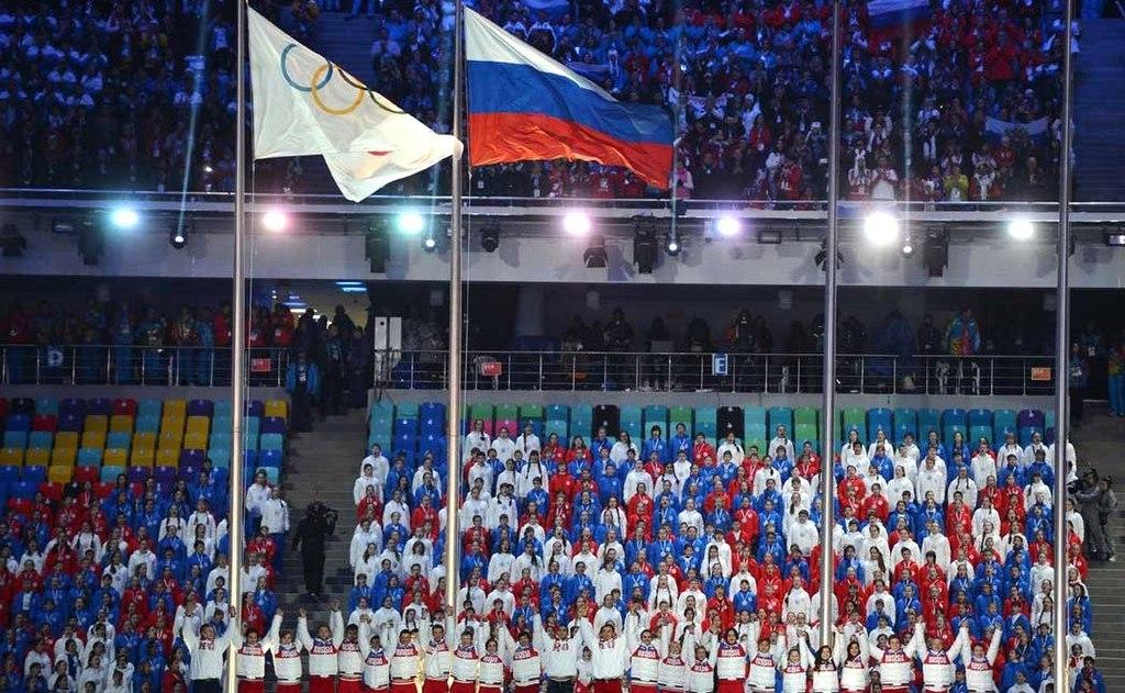 Российским спортсменам запретили выступать под флагом РФ до конца 2022 года