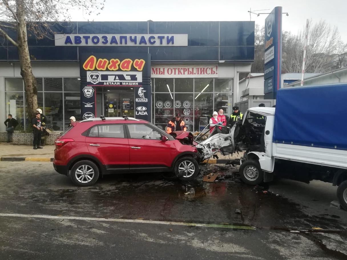 В Сочи около магазина