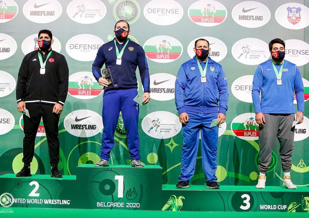 Кубанские спортсмены завоевали золото и серебро Кубка мира по греко-римской борьбе