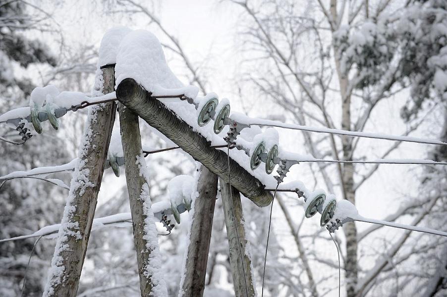 На Кубани несколько населенных пунктов остались без электричества