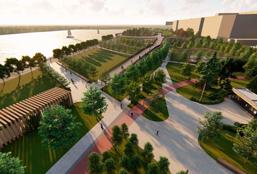Власти Краснодара назвали сроки строительства единой набережной вдоль Кубани