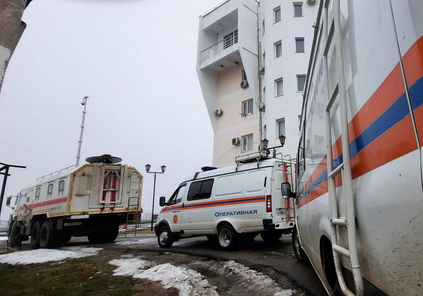 В Темрюкском районе введен режим повышенной готовности после ЧП на судне с отравлением моряков