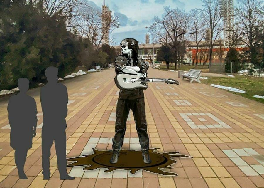 В Краснодаре могут установить памятник Виктору Цою