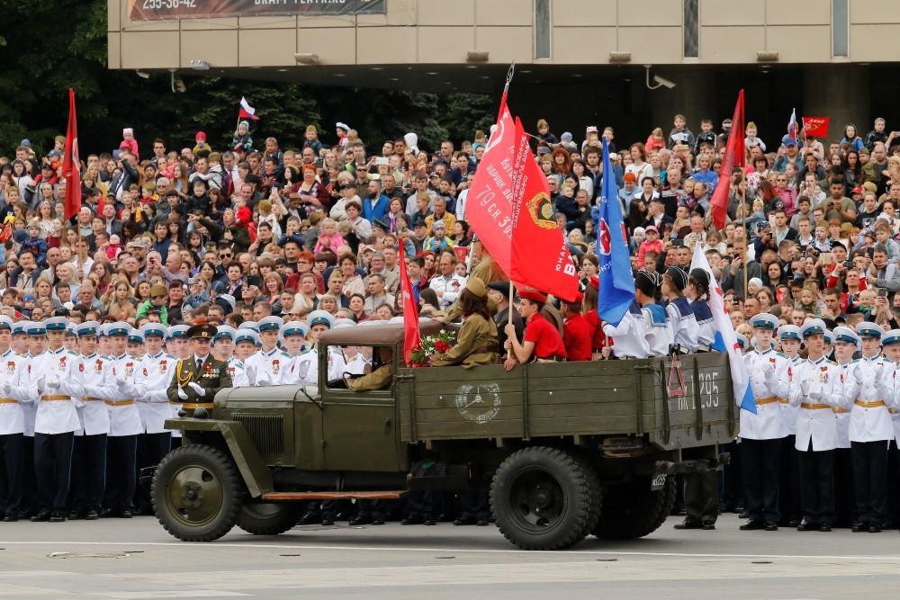 На Кубани парад Победы 9 мая и Кубанского казачьего войска проведут без зрителей