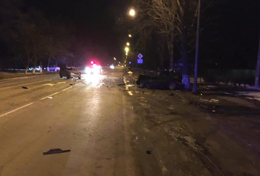 В Курганинске произошло ДТП с пятью пострадавшими