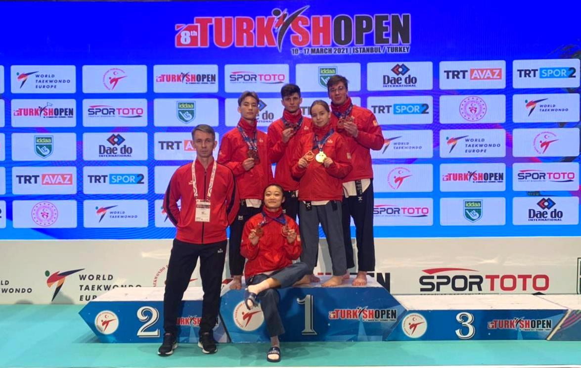 Кубанские спортсмены завоевали золото на международном турнире по тхэквондо