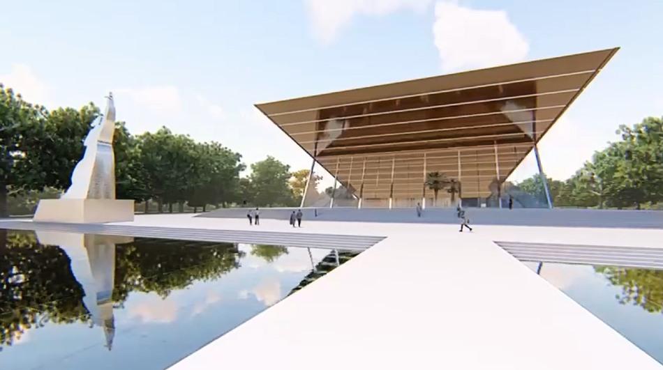 В Краснодаре представили проект реконструкции кинотеатра