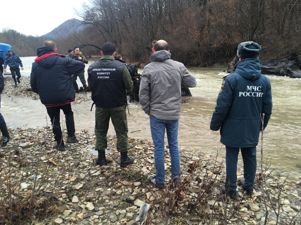 В Краснодарском крае два человека погибли во время переправы через реку