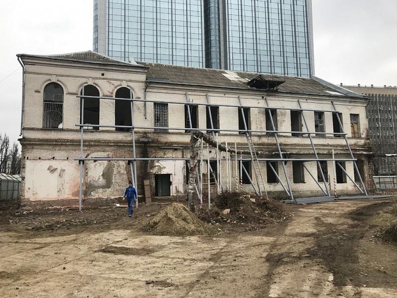 В Краснодаре в здании женского городского училища 19 века после реконструкции сделают кафе