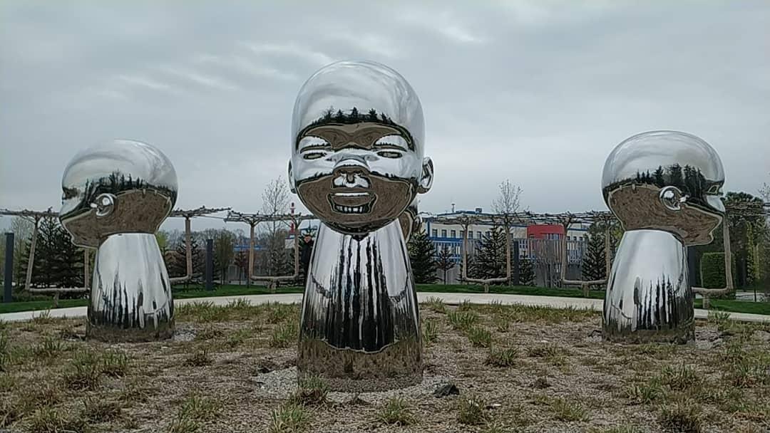 В парке «Краснодар» появился новый арт-объект «Внутренний ребенок»