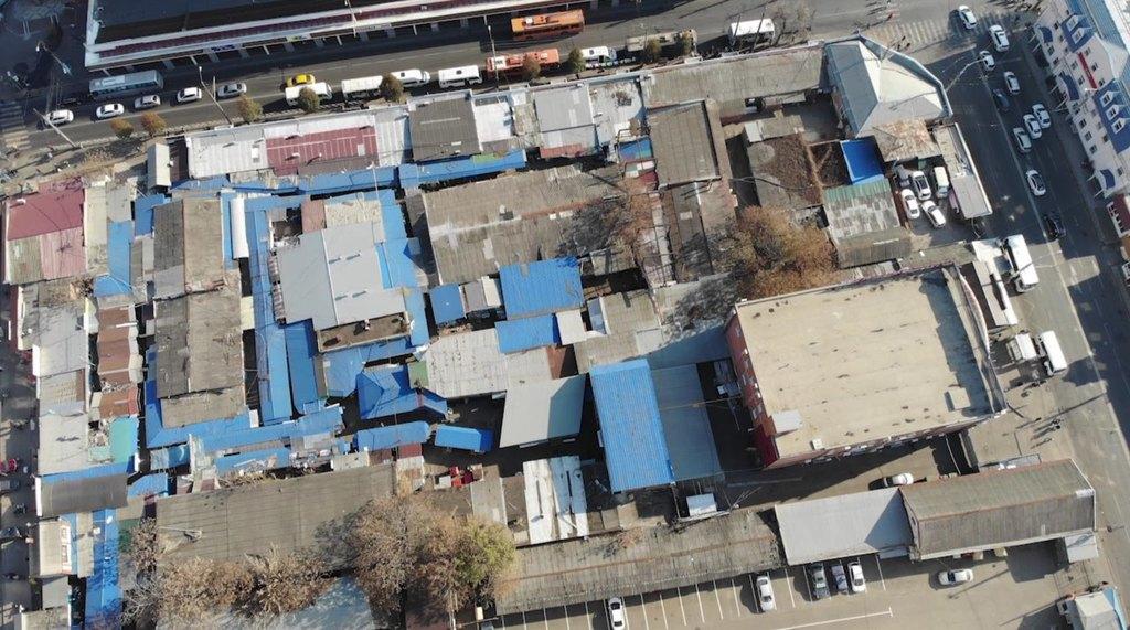 В Краснодаре на месте скобяного рынка планируют сделать торговый комплекс и транспортный узел