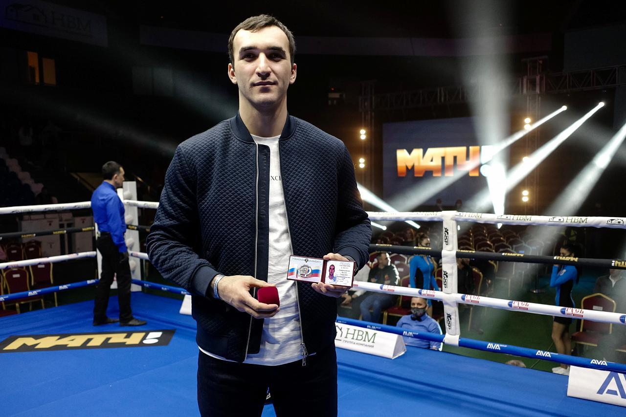 Впервые в истории кубанский боксер получил звание заслуженного мастера спорта РФ