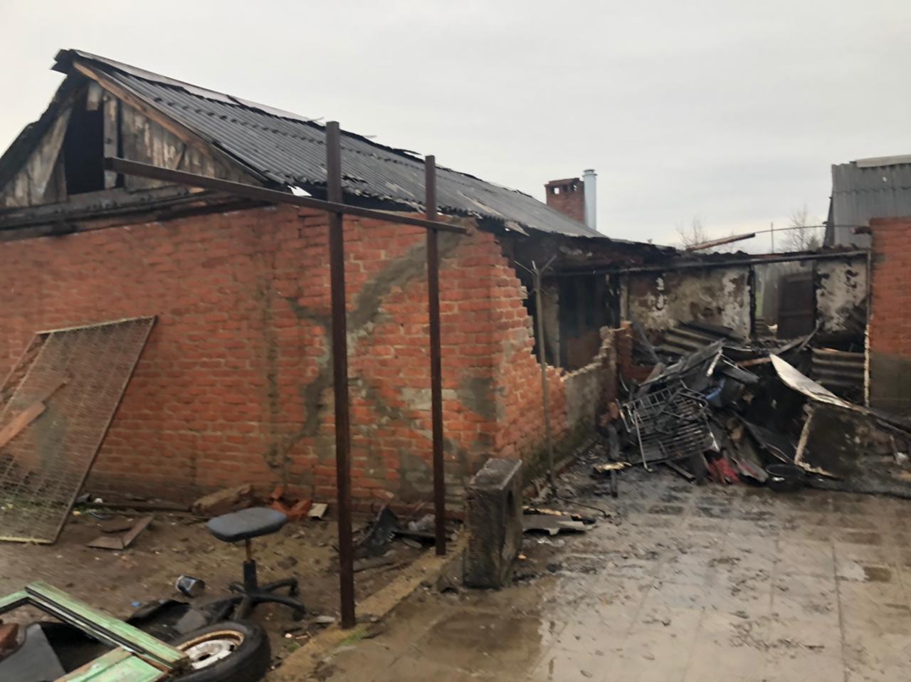 На Кубани СК проводит проверку по факту смерти пенсионера при пожаре