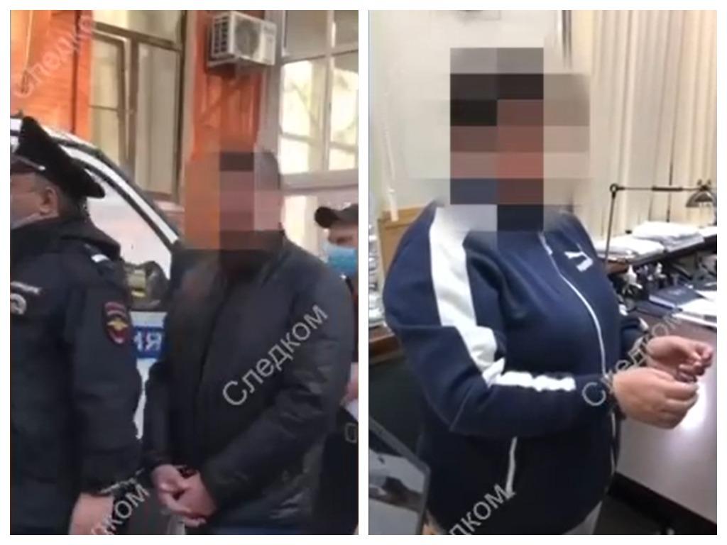 На Кубани задержаны глава Щербиновского района и замглавы Каневского района по делу о взяточничестве