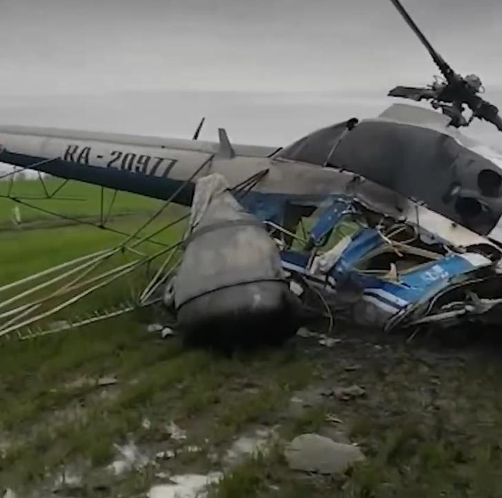 На Кубани при крушении вертолета погиб пилот
