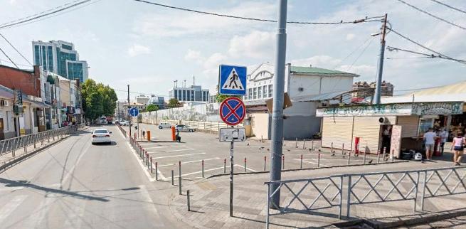 В центре Краснодара 23 апреля ограничат движение транспорта