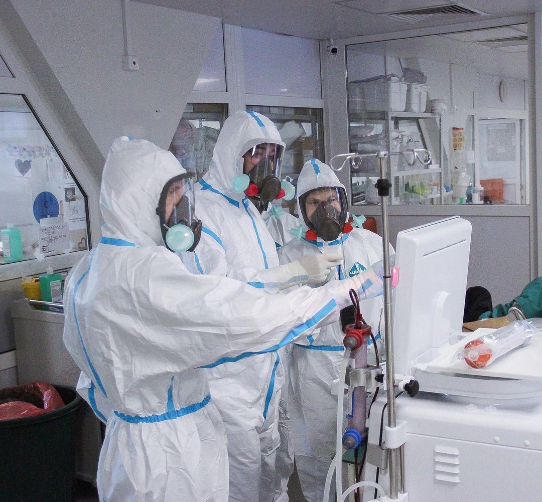 На Кубани число заболевших коронавирусом увеличилось на 104 человека
