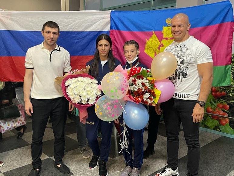 Спортсменка из Краснодарского края завоевала серебро на первенстве Европы по вольной борьбе