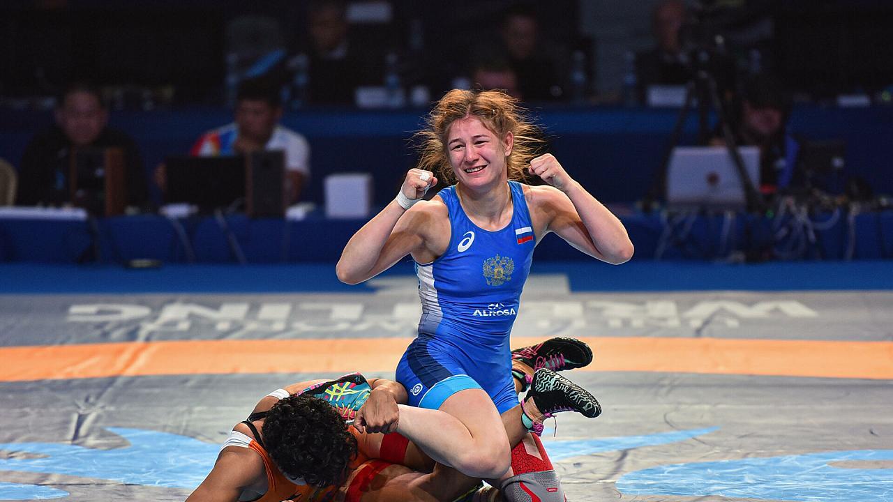 Кубанская спортсменка попала в олимпийскую сборную России по вольной борьбе