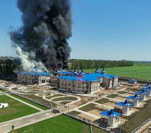 Прокуратура назвала предварительную причину пожара в строящемся детском саду Кореновска