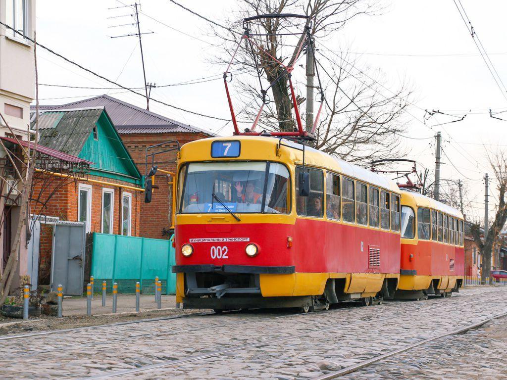 В Краснодаре с 25 мая прекратят работу четыре трамвайные остановки