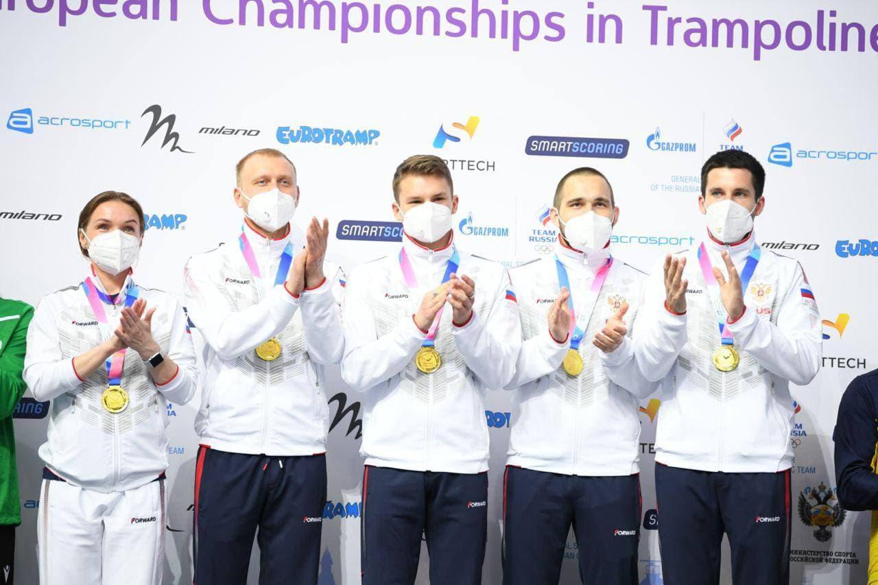 Кубанские спортсмены взяли золото на первенстве и Чемпионате Европы по прыжкам на батуте