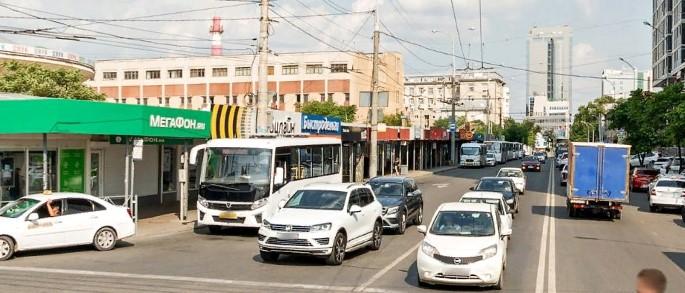В Краснодаре представили эскиз остановочного комплекса около Краснодарского цирка
