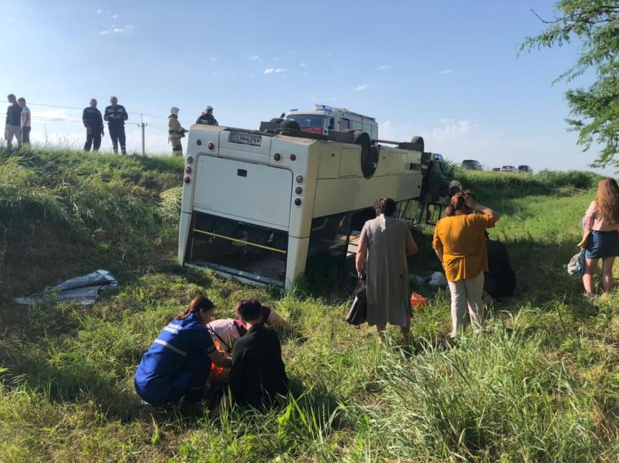 Прокуратура организовала проверку по факту ДТП с пассажирским автобусом на Кубани