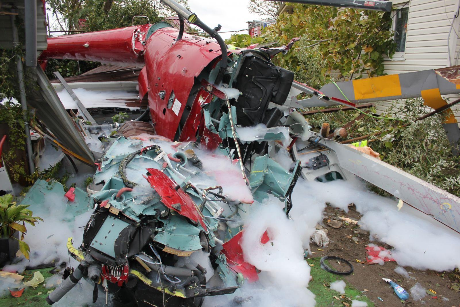 В Сочи осужден пилот вертолета, при крушении которого погибли два человека