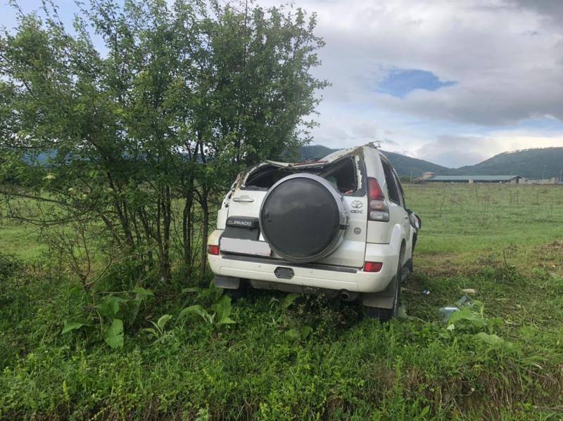 В Адыгее перевернулась машина, пострадал 12-летний ребенок
