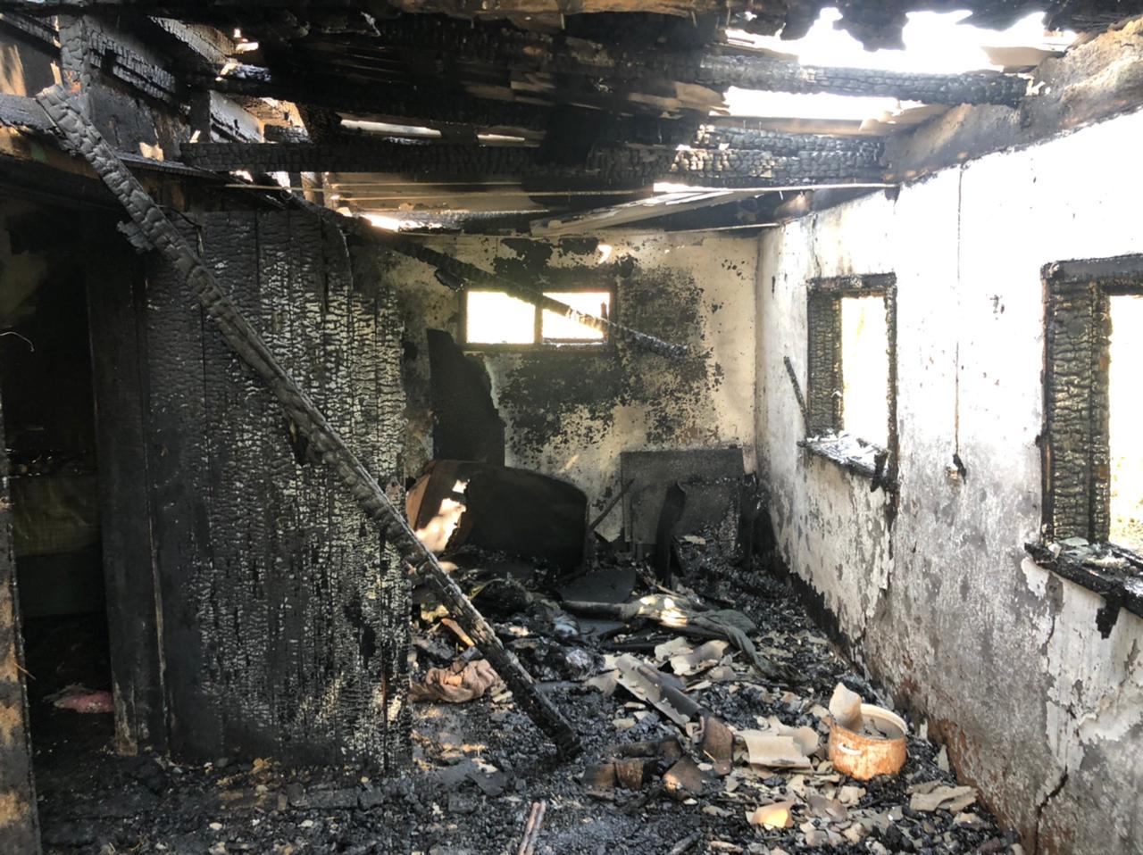 На Кубани мужчина погиб в пожаре, произошедшем из-за короткого замыкания