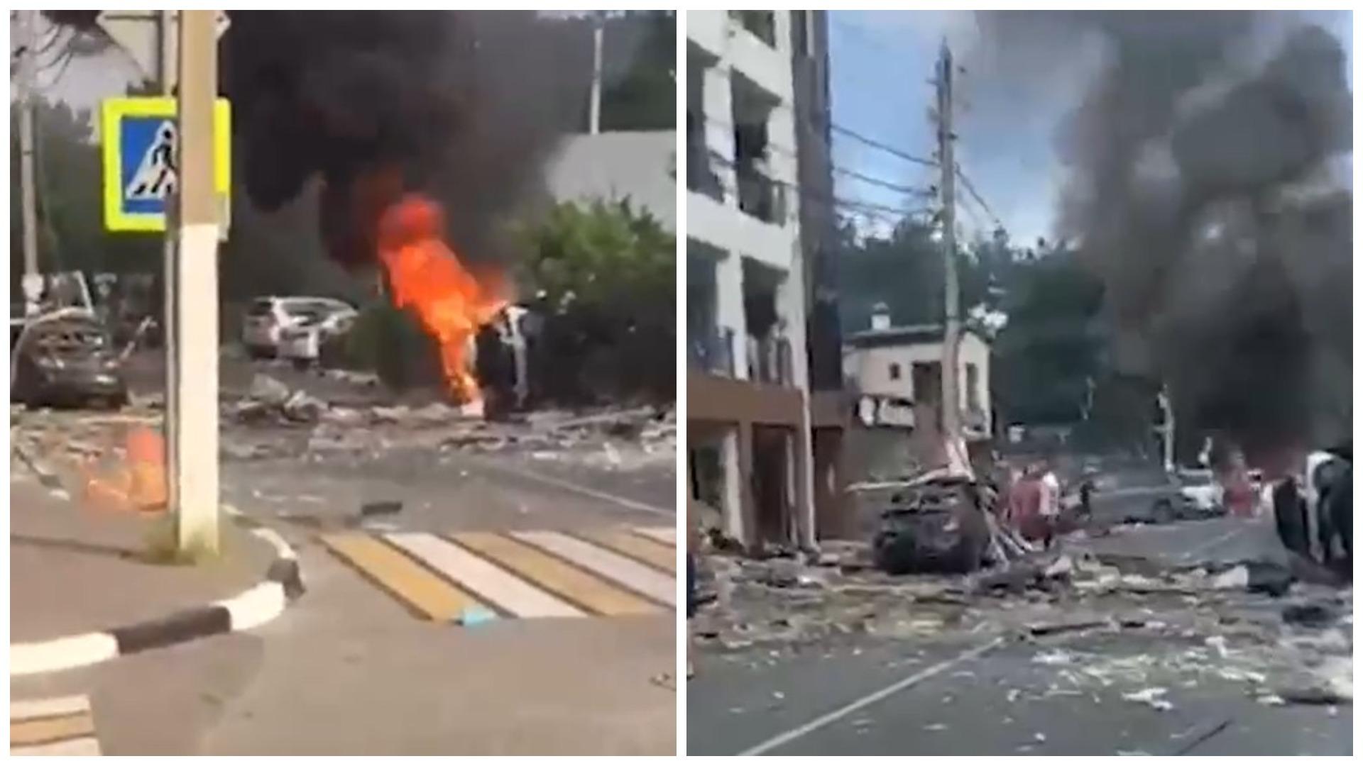 При взрыве в отеле Геленджика один человек погиб и пятеро пострадали
