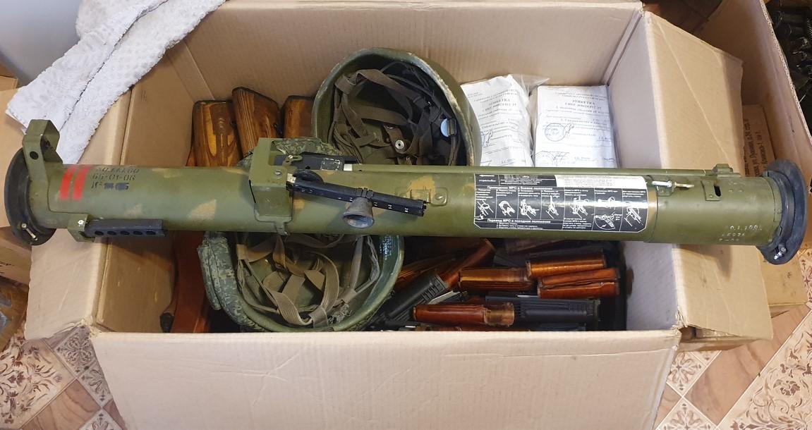 Житель Кубани отправил контрабандой в Беларусь боевую экипировку