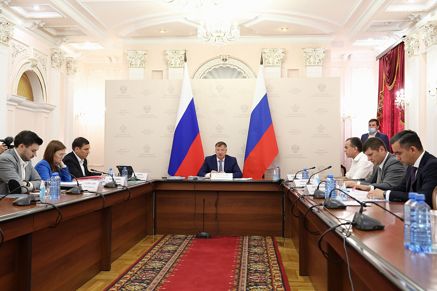 Вице-премьер РФ Марат Хуснуллин посетил Кубань с рабочим визитом