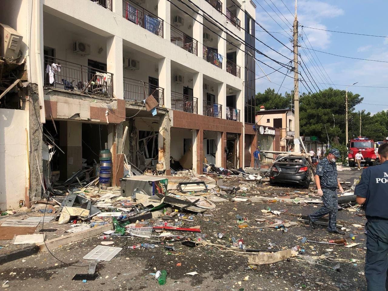 В Геленджике скончался пострадавший при взрыве газа в гостинице