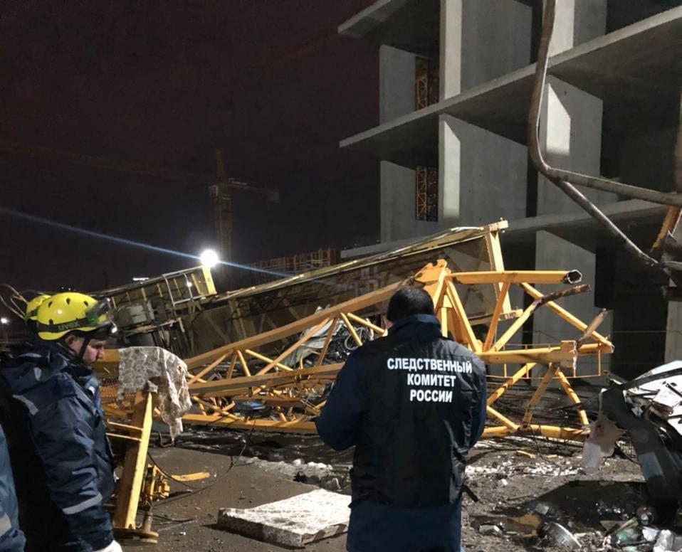 В Краснодаре состоится суд по гибели двух человек при падении башенного крана