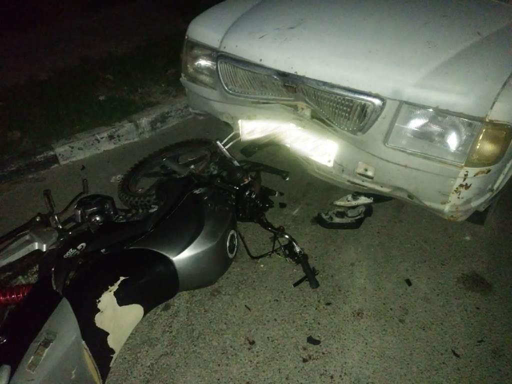 В Новороссийске мотоциклист выжил после столкновения с иномаркой