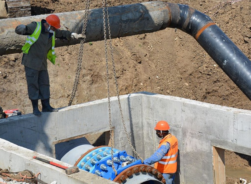 На Кубани восстановили работу Троицкого водопровода