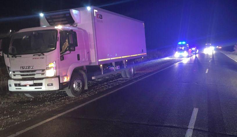 В Темрюкском районе грузовик насмерть сбил пешехода