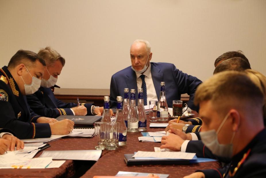 Бастрыкин проконтролировал ход расследования дела обманутых дольщиков в Краснодаре